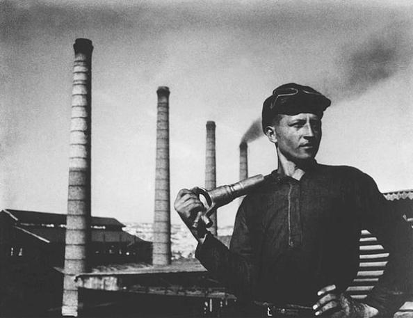 Evgueni Jaldei… «Minero del DonBass»