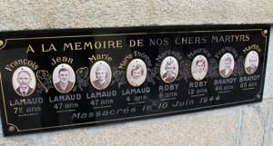 Familias enteras fueron asesinadas aquel fatídico 10 de junio de 1944