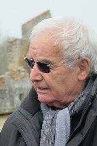 Robert Hébras, superviviente de la matanza de Oradour Sur Glane, y nuestro guía en la visita