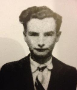 Robert Hébras en la época de la II Guerra Mundial