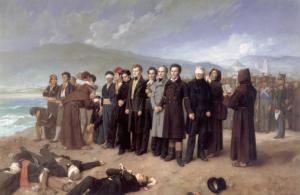Fusilamiento de Torrijos y sus compañeros [A. Gisbert]