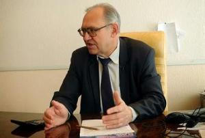 Boris Litvinov, dirigente del PCU, nuevo presidente del parlamento de la RP de Donetsk.
