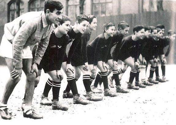 Los niños españoles de Dinamarca - Equipo de fútbol