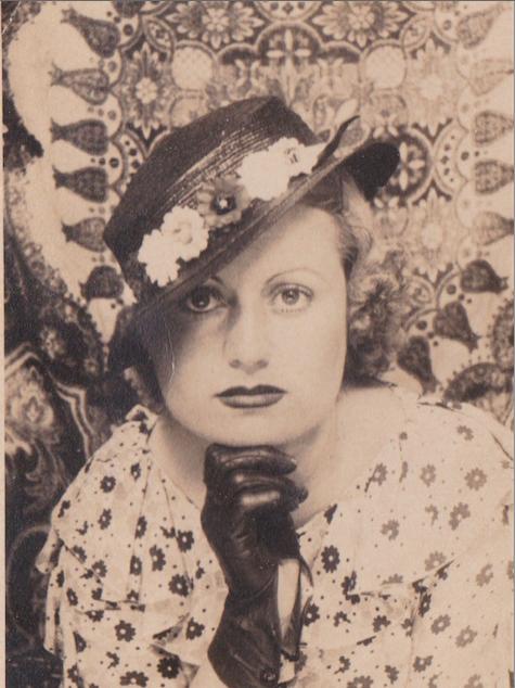 Donnina Alende Torres en 1932