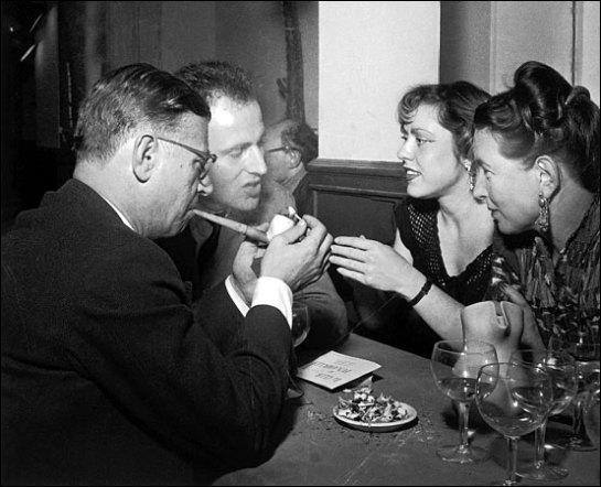 Los cafés son un rasgo característico de Europa, George Steiner |  Sociología crítica
